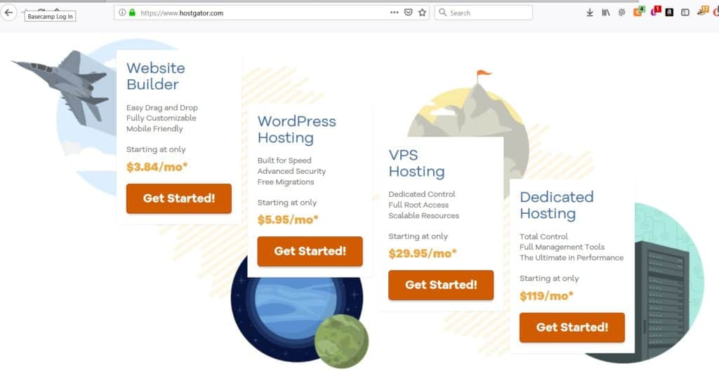 best web hosting for authors