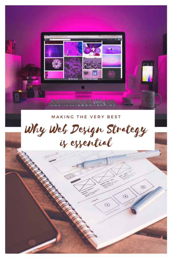 why web design strategy is essential